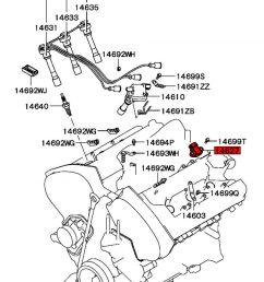 see here for where located on engine mitsubishi part number [ 800 x 1008 Pixel ]