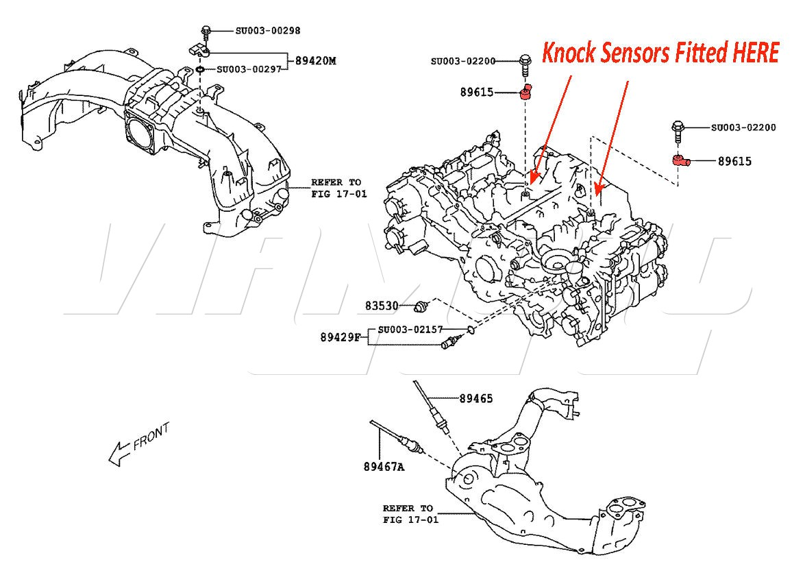 Toyota Camry Knock Sensor Location