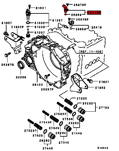 [Exploded View Of 2007 Mitsubishi Galant Manual Gearbox