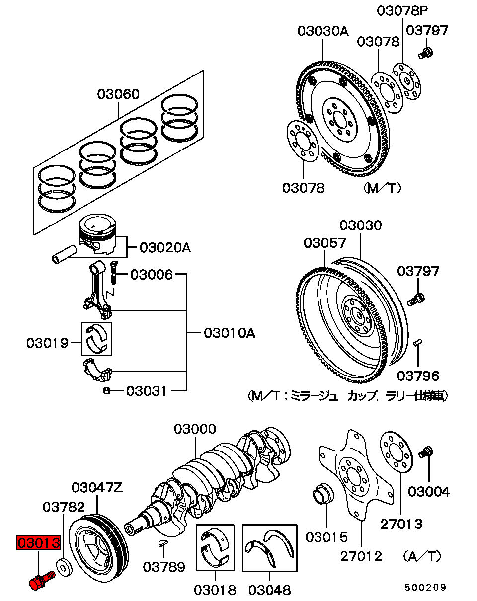 2004 Mitsubishi Endeavor Timing Belt Diagram