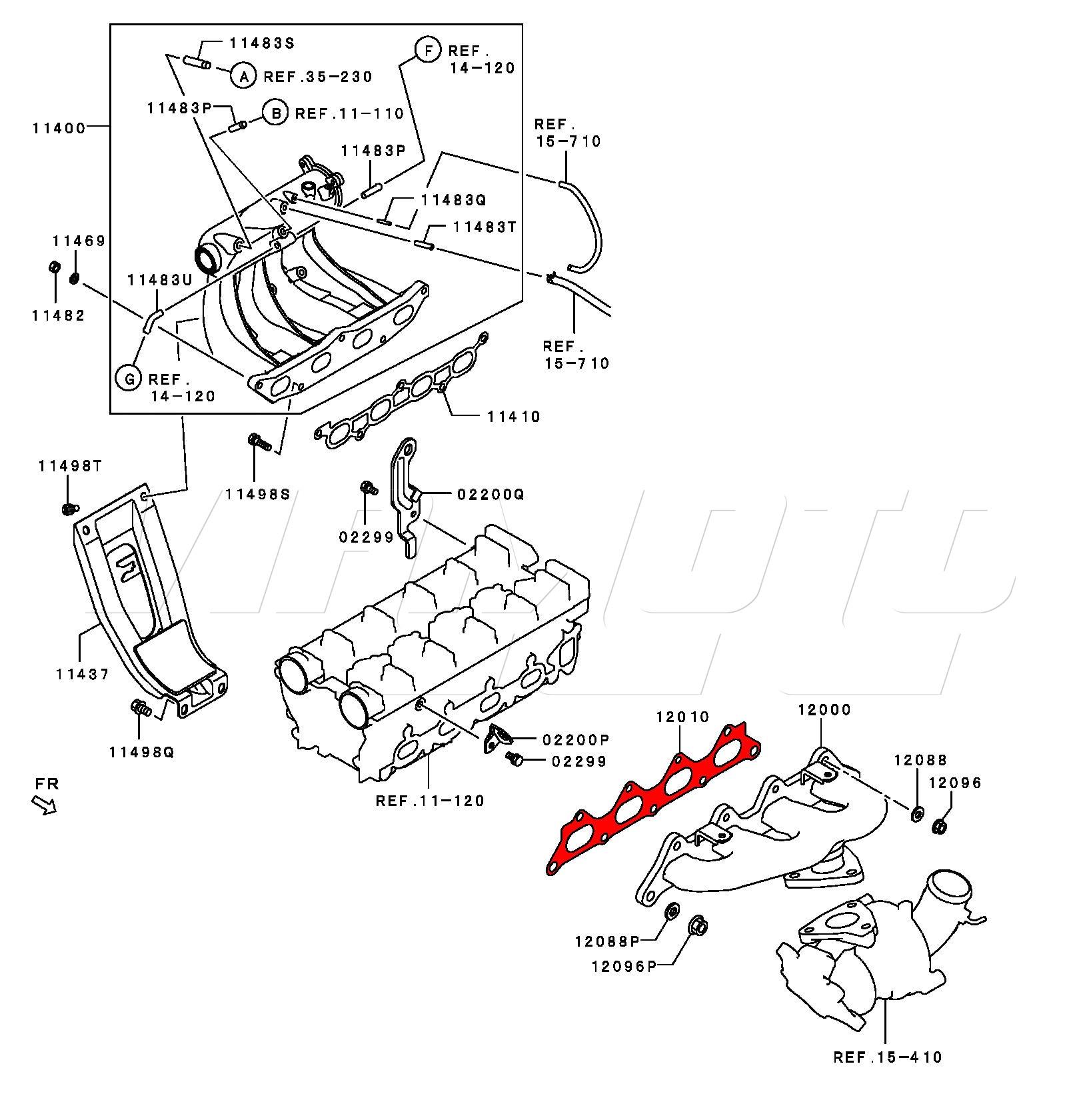 Viamoto Car Parts, Mitsubishi Colt CZT Z37A Parts