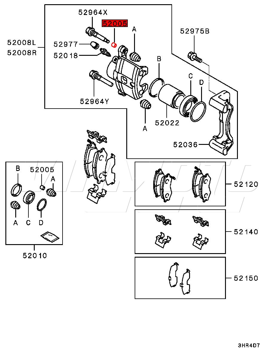 hight resolution of mitsubishi part number