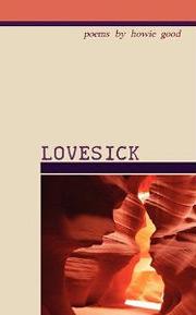 Lovesick cover