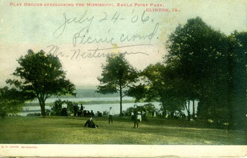 A postcard from 1906, written on but never sent