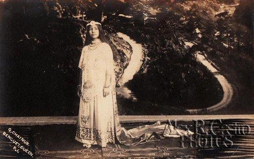 Eveline Chainus Guirey, Queen of the Benguet Carnival in 1915