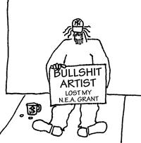 bullshit artist