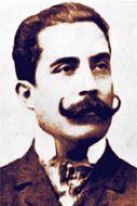 José Santos Chocano and his amazing mustache