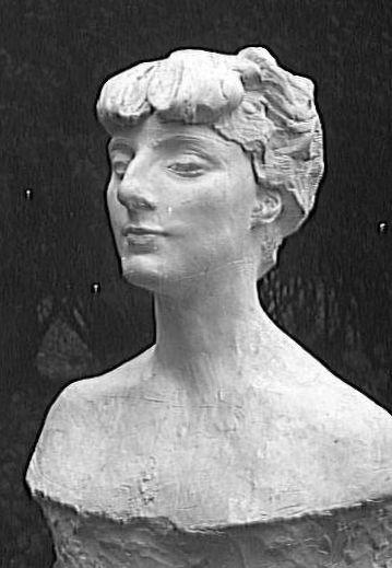 bust of Anna de Noailles by Rodin