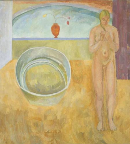 The Tub 1917 by Vanessa Bell 1879-1961