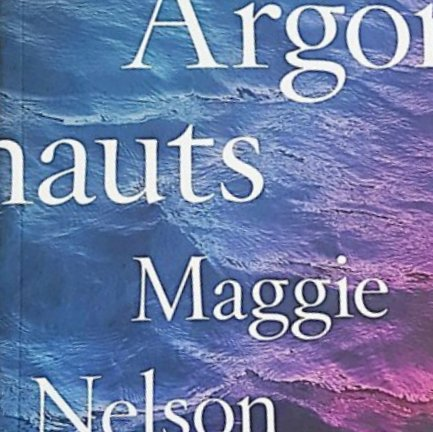 section of the cover of The Argonauts