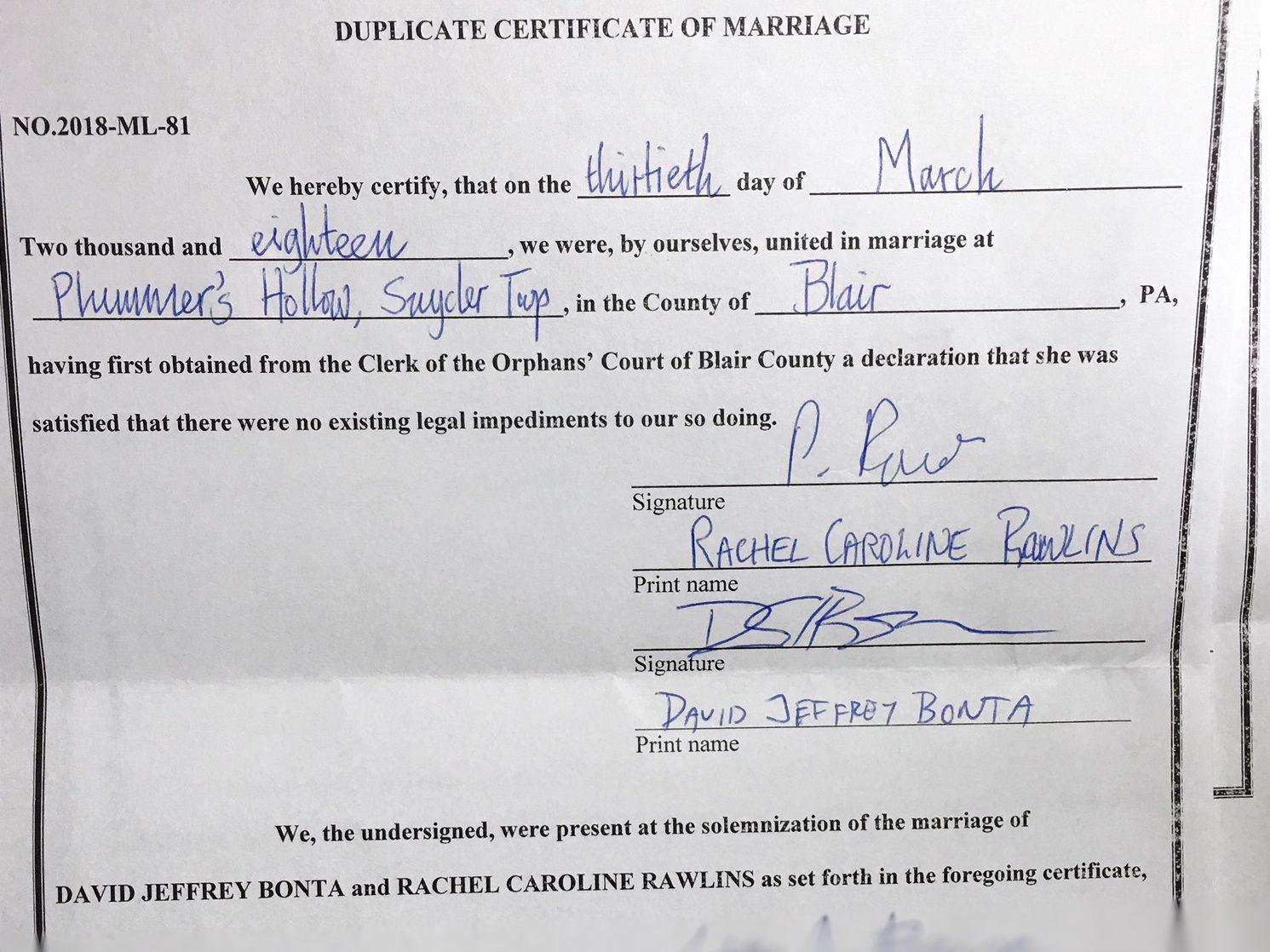 Self Uniting Marriage Wedding Vows Via Negativa