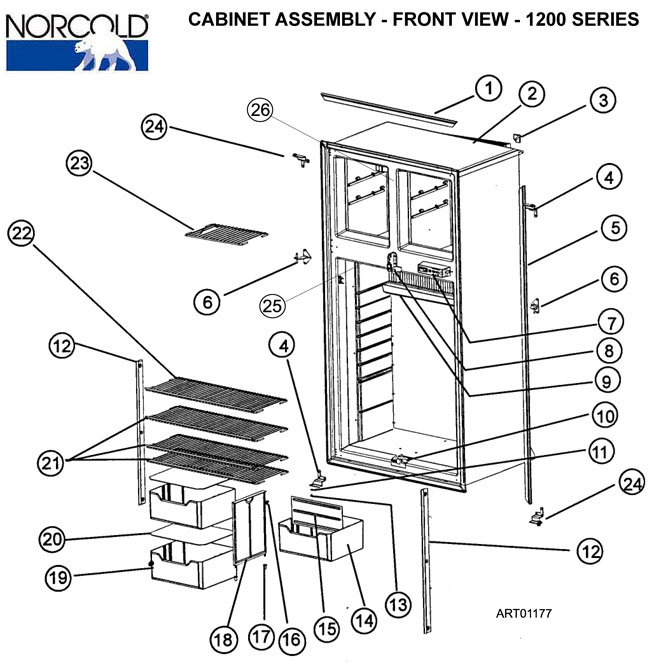 Norcold N81x Refrigerator Wiring Diagram : 40 Wiring