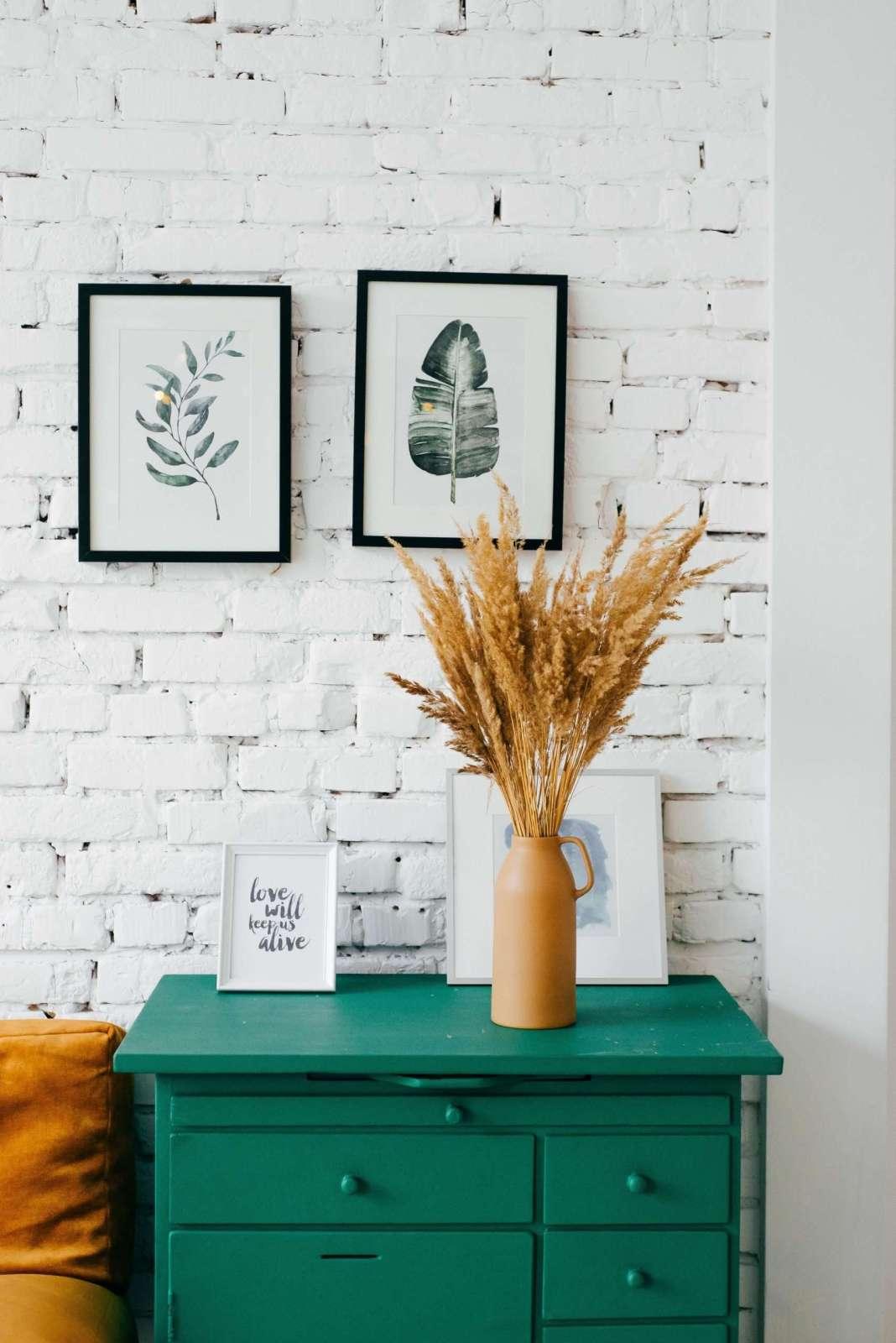 Green Aesthetic Desk