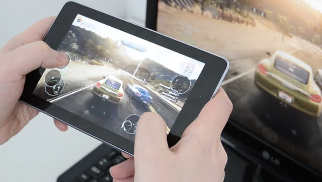 Bermain Game Asphalt Di Tablet Android atau PC