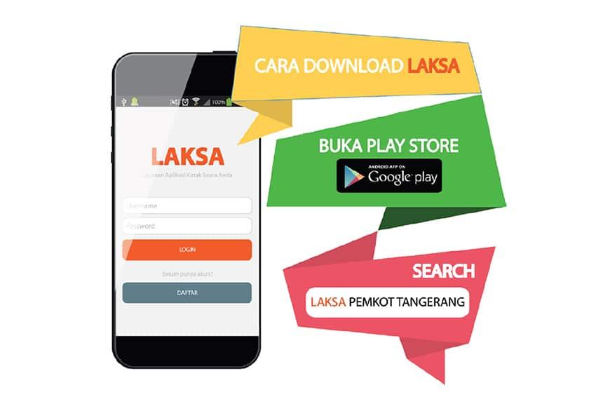 Aplikasi Smartphone Laksa