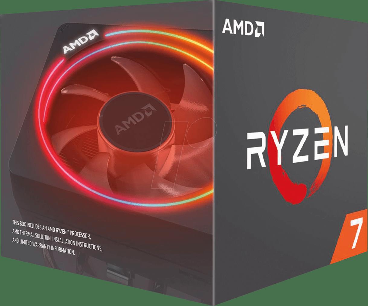 Gambar Box AMD Ryzen 7 Transparan