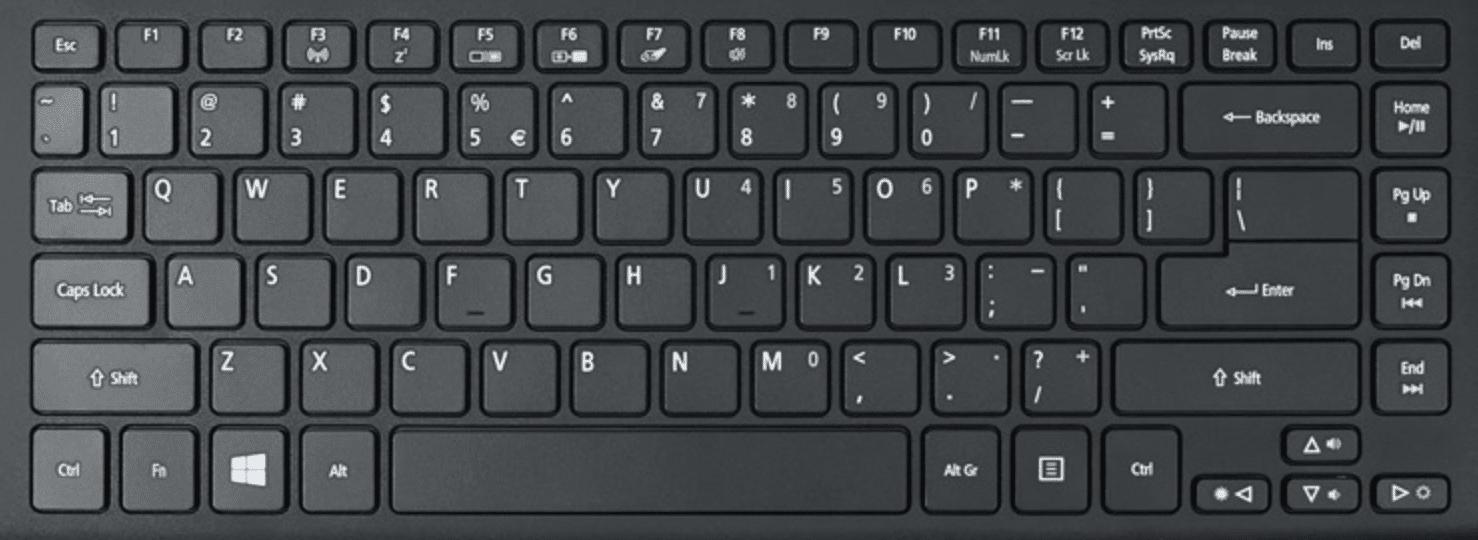Keyboard Laptop TKL