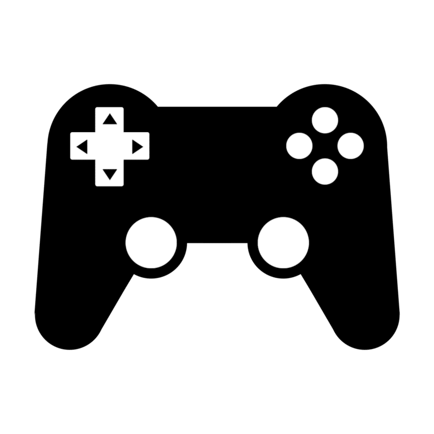 Icon Vector Console Controller Transparent