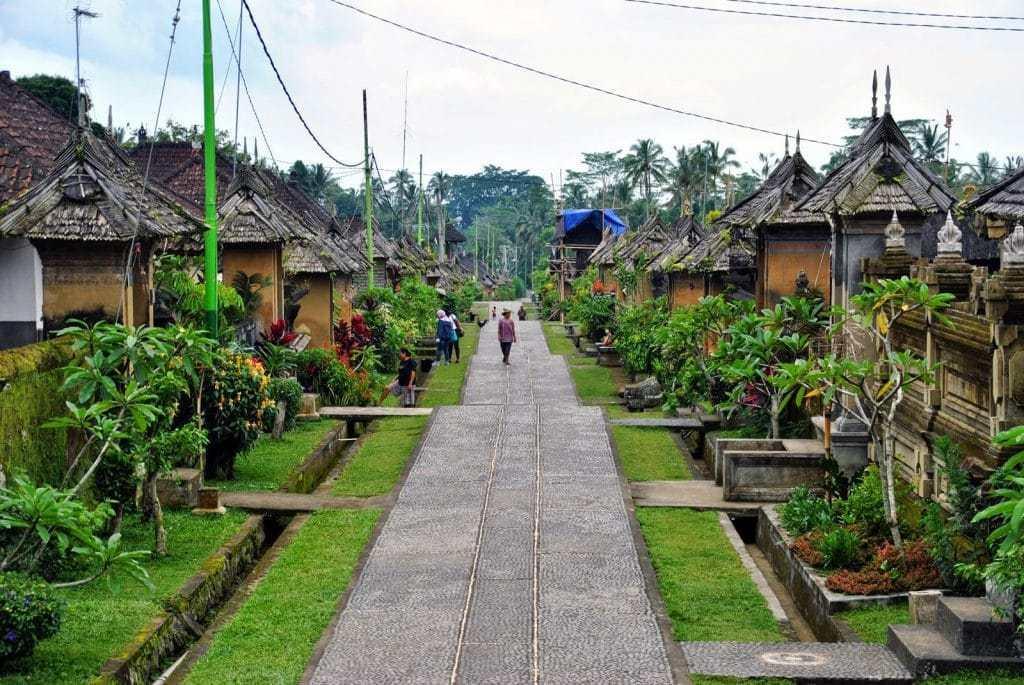 Pemandangan Bersih dan Indah Dari Desa Penglipuran, Desa Wisata Di Bali
