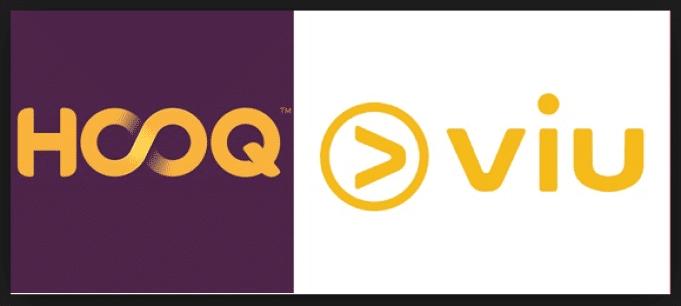 Logo Hooq dan Viu Dari Telkomsel