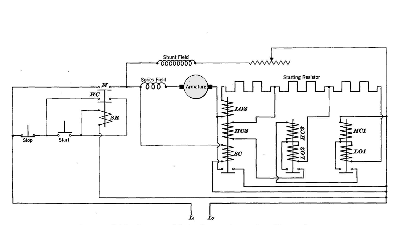 square d 8536 motor starter wiring diagram 1993 ford explorer dc great installation of series lockout starters rh vias org 4 point circuit
