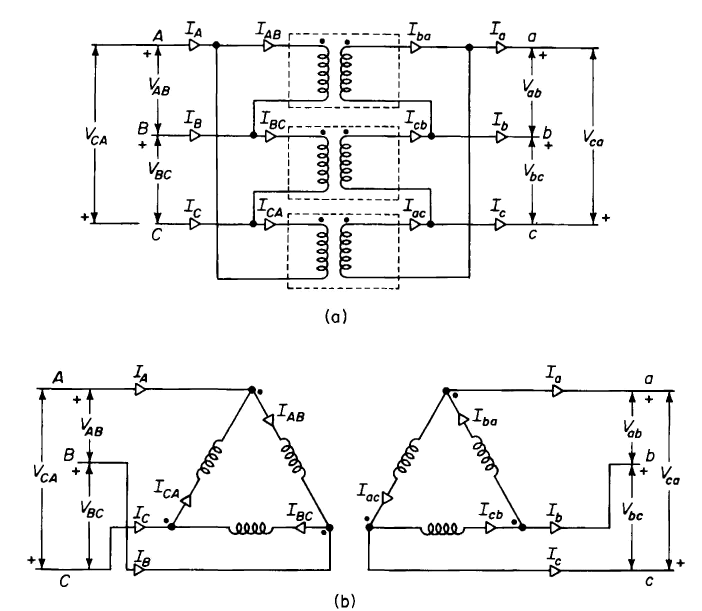 Delta To Wye Transformers Wiring : 32 Wiring Diagram