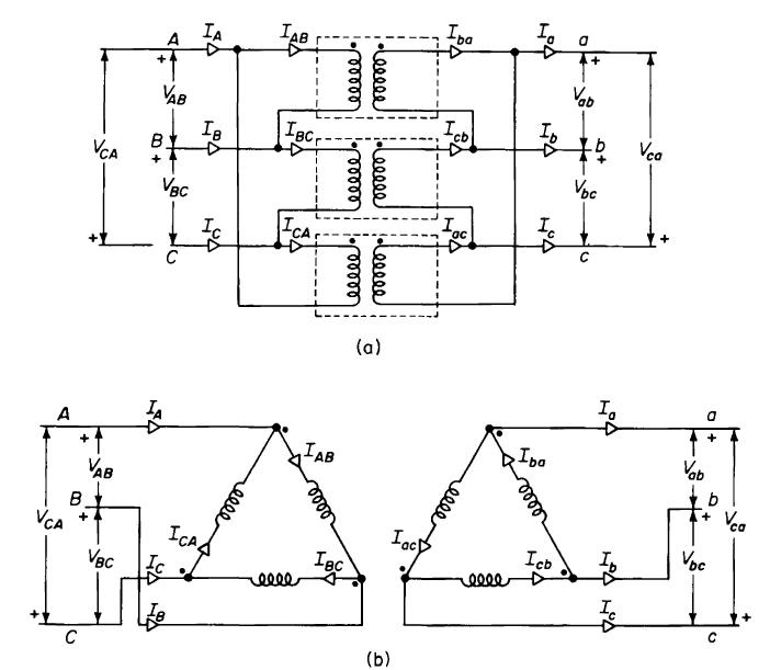 delta 3 phase bank diagram