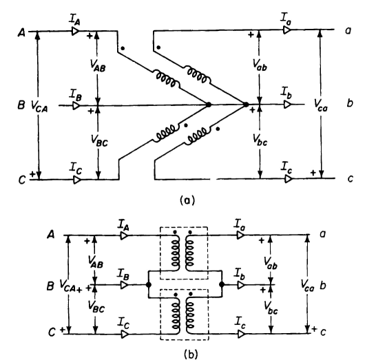 3 Phase Open Delta Transformer Connection Diagram, 3, Free