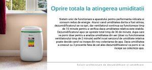 dezumidificatorul și purificatorul cu consum redus de energie Meaco de la Aleco Air