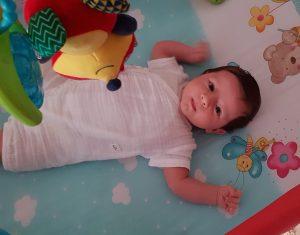 A doua lună cu bebe
