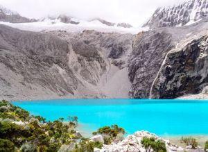 Blog Viatgi - Perú, La Laguna de Cullicocha en La Cordillera Blanca