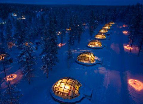 Blog Viatgi - Finlandia, Majoitus Lasi Iglut