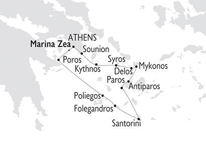 Crucero Variety Cruises - Grecia Joyas de las Cícladas