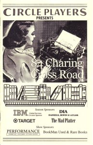 84 Charing Cross Road program