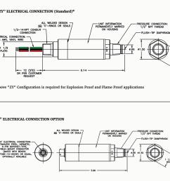 diaphragm pressure transmitter blueprint image [ 1024 x 923 Pixel ]