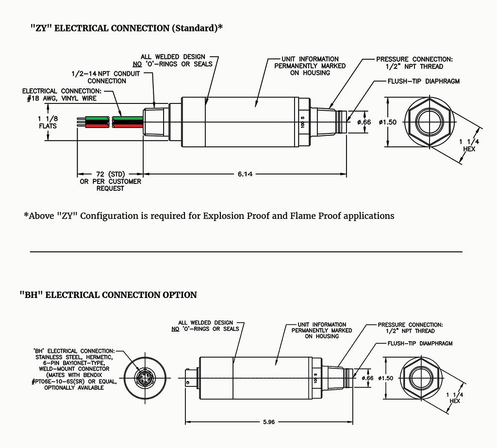 hight resolution of  diaphragm pressure transmitter blueprint image