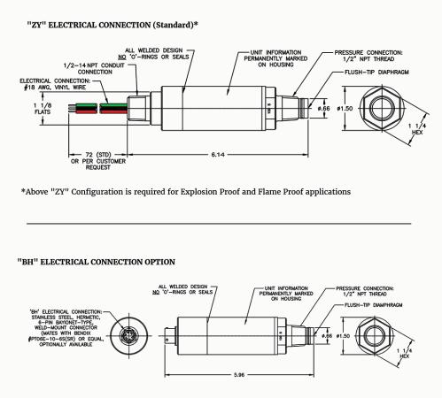small resolution of  diaphragm pressure transmitter blueprint image