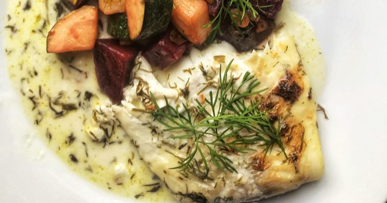 Fisk med dillsås (AIP)