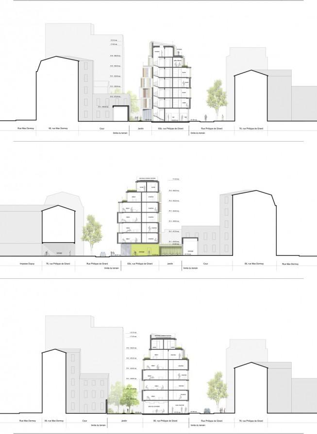 Experimental Student Residence Shared Housing Paris 18