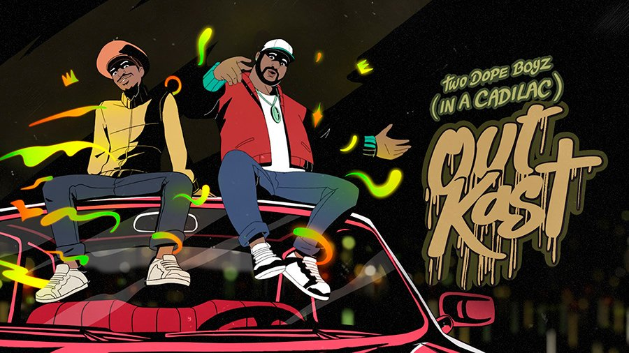Outkast Two Dope Boyz Animated Video