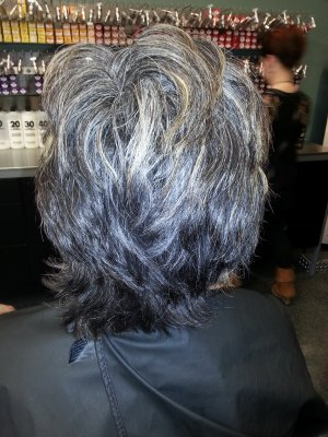 Before And After Vibe Hair Studio