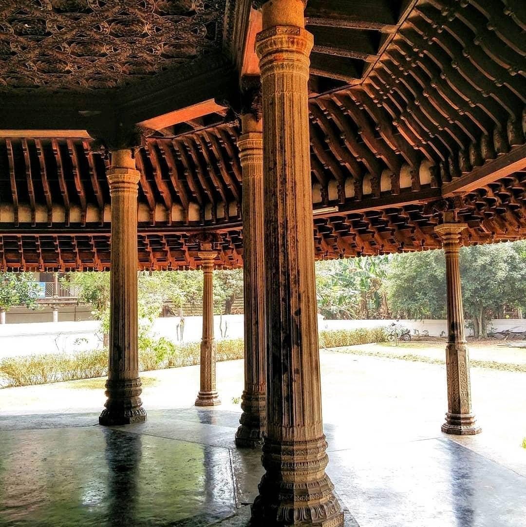 Pillars of Padmanabhaswamy Temple