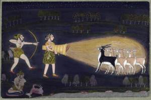 Bhil Tribe painting at Walters Museum, USAA