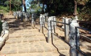 Bhimashankar Temple stairway