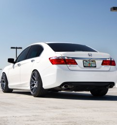 honda accord white velgen vmb5 matte gunmetal wheels 04 jpg  [ 1000 x 1000 Pixel ]