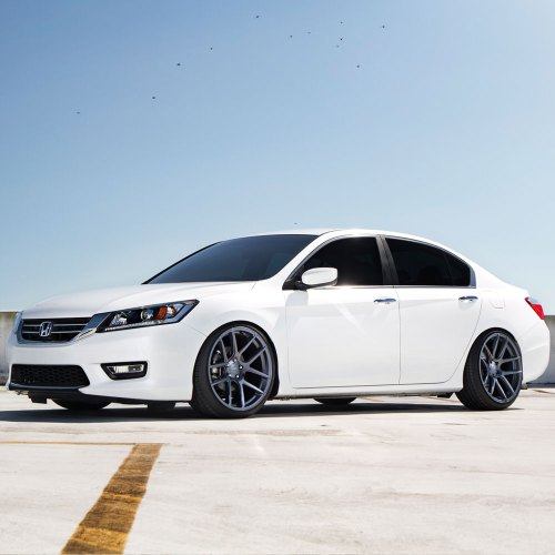small resolution of  honda accord white velgen vmb5 matte gunmetal wheels 05 jpg