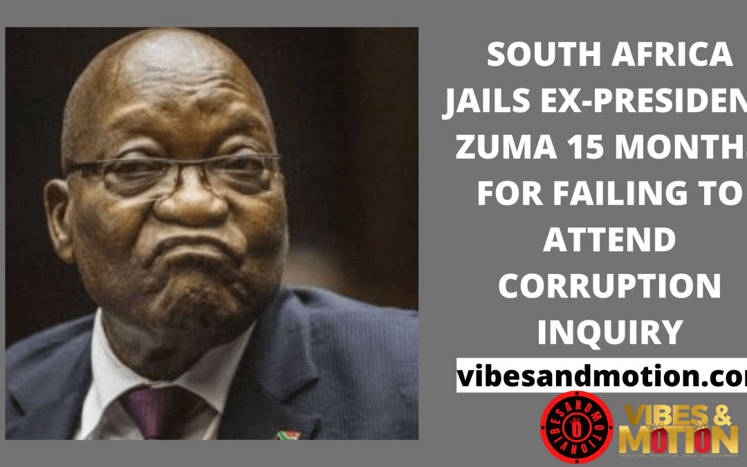 Zuma has been ordered to turn himself in to authorities within five days.