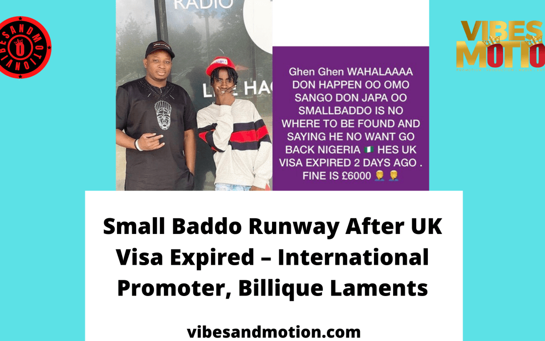 Small Baddo Runway After UK Visa Expired – International Promoter, Billique Laments