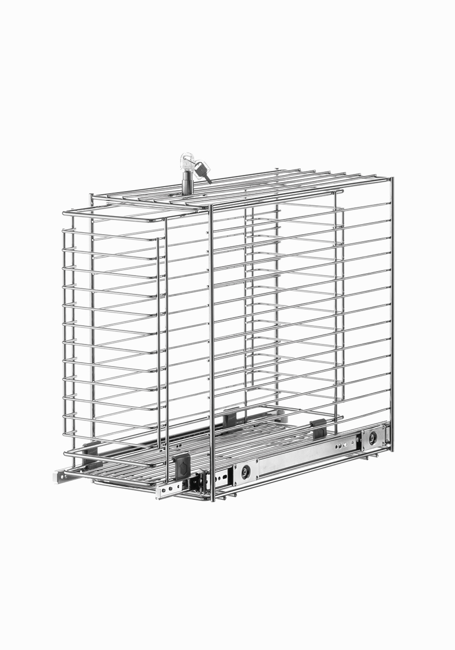 Estraibile base porta detersivi CP140  VIBO accessori in