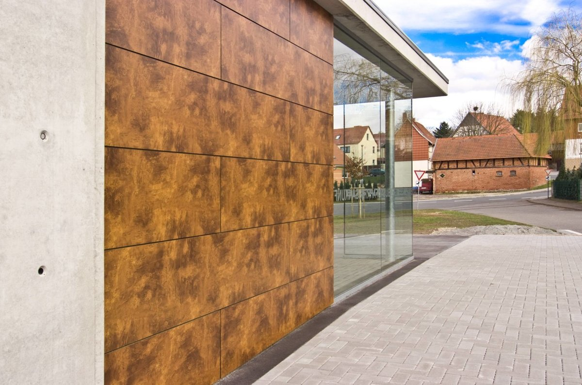 Trespa textured cladding